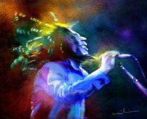 Bob Marley 01 von Miki de Goodaboom