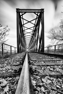 Railway bridge von Christian Schlamann