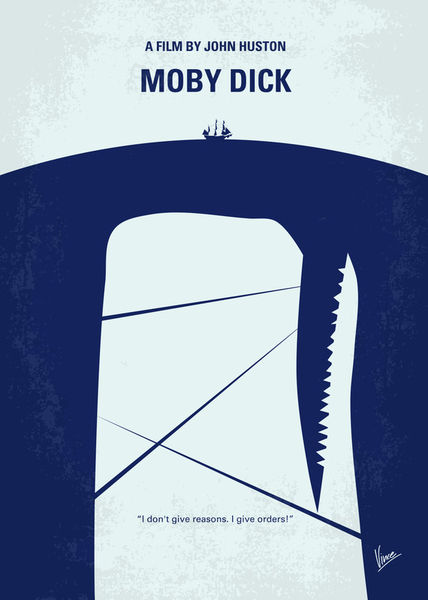 No267-my-moby-dick-minimal-movie-poster
