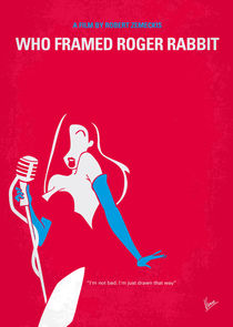 No271-my-roger-rabbit-minimal-movie-poster