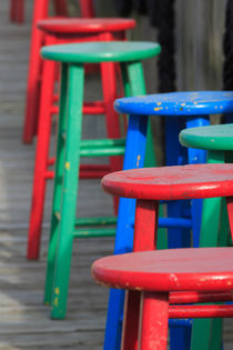 Wooden Stools by Louise Heusinkveld
