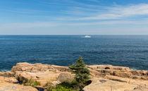 Scenic Maine Coastline by John Bailey