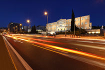 The Greek Parliament by Constantinos Iliopoulos