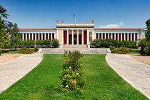 The National Archaeological Museum of Athens, Greece by Constantinos Iliopoulos