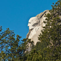 George Washington Sculpture, Mount Rushmore von Jim Plaxco