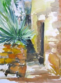 Gasse in Frankreich von Sonja Jannichsen