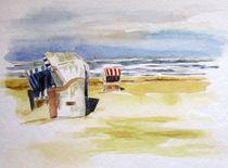 Strandkörbe im Sand von Sonja Jannichsen