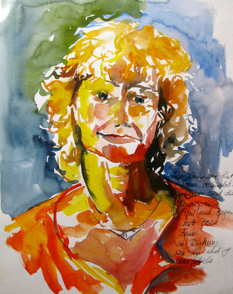 Malen-am-meer-portrait-hexe-aquarell