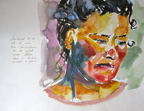 Portrait Sonnenblume von Sonja Jannichsen