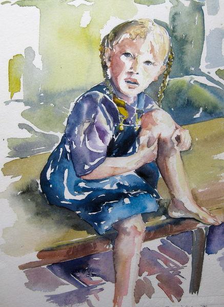 Malen-am-meer-kind-aquarell
