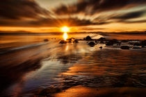 Sunset on the coast by Sam Smith