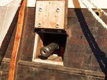 Gotheborg Sailboat Canon by André  Pillay
