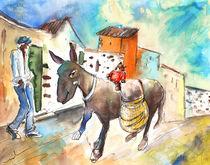 The Donkey and The Little Bear von Miki de Goodaboom