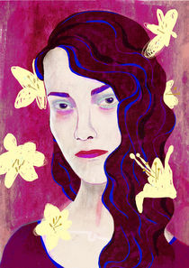 Purple dream von leni-illustrations