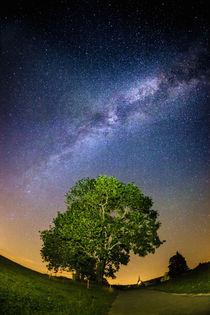Sternenklare Nacht in Bayern von Björn Kindler