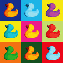 Pop Art Ducks by Gaby Jungkeit