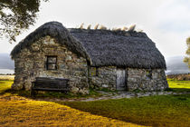 Thatched Roofed Cottage Culloden von Derek Beattie