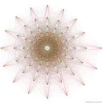 Geometric Star Algorithmic Art von Jim Plaxco