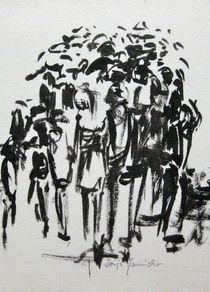 Menschentraube von Sonja Jannichsen