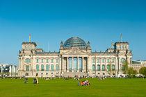 Reichstag Berlin by davis