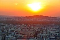 Sonnenuntergang über Paris by Clara Bindhardt