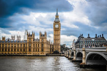 Houses of Parliament and Westminster Bridge von davis