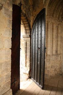 alte Tür von Clara Bindhardt