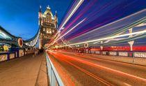 Tower Bridge Traffic von davis
