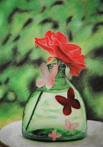 Rose Sketch von Amy Harmse