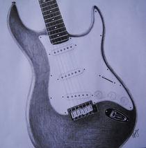 Stratocaster Sketch von Amy Harmse