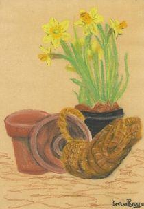 Frühlingsvorfreude von Irena Berger