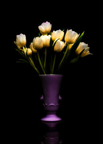 Still Life - White Tulips 2 by Jon Woodhams