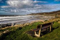 Coombesgate  Beach, Woolacombe. von Dave Wilkinson