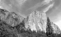El Capitan (Black and White) by John Bailey