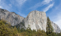 El Capitan And The Wall Of Granite by John Bailey