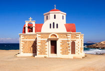 Chapel at the beach - Crete - Greece von Jörg Sobottka