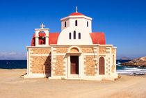 Chapel at the beach - Crete - Greece by Jörg Sobottka
