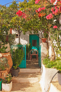 Cretan house entrance - Crete - Greece von Jörg Sobottka