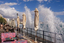 Waterfront promenade - Crete - Greece von Jörg Sobottka