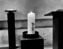 burning candle by hansenn