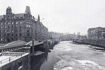 Speicherstadt im Winter von Simone Jahnke