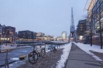Hafencity im Winter  von Simone Jahnke
