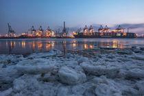 Elbe on the rocks by Simone Jahnke
