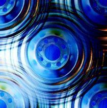 Blue Ripples von Keith Bond