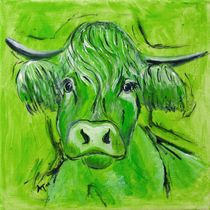 "The green Cow ""Max"" von Annett Tropschug"
