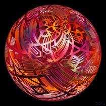 Leuchtende Kugel - von Viktor Peschel