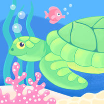 sammy the sea turtle by laura nikiel