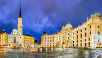Michaelerplatz in Vienna, Austria by Michael Abid