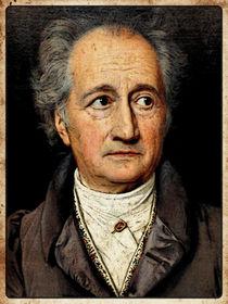 "Goethe, ""Vintage Comic by DoC GermaniCus Fotografie"