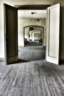 Abandoned shool, two by Giorgio  Perich